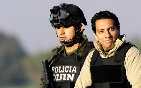 Llega a Bogotá, deportado de EEUU, David Murcia Guzmán