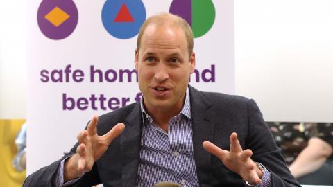Asegura el Principe Guillermo que no tendria problemas con un hijo gay