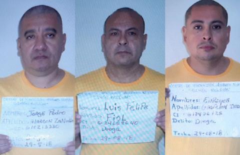 Se fugan tres presuntos narcotraficantes mexicanos de carcel en Venezuela