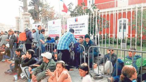 Foto del Consulado chileno, en Tacna