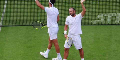 ¡Tremenda batalla de Cabal y Farah! Clasificaron a semis de Wimbledon