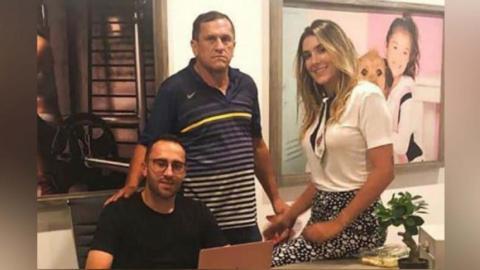Falleció el padre de David Ospina