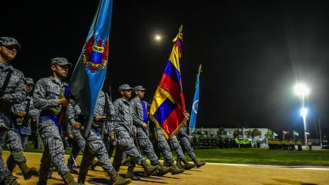 Los deportistas colombianos celebran el Día de la Independencia