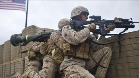 Detienen a 16 marines estadounidenses acusados de tráfico de personas