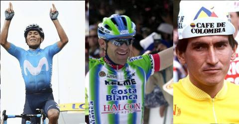 Nairo Quintana se sobró en los Alpes