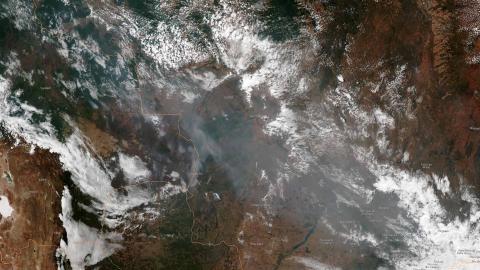 El humo de los incendios en el Amazonas llegará a Jujuy