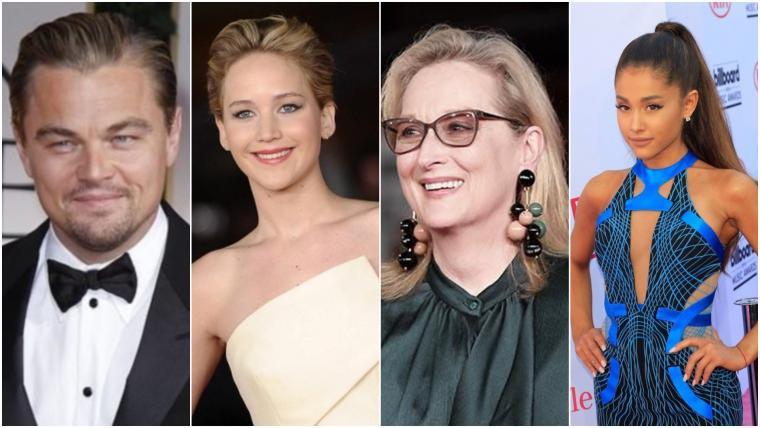 Leonardo DiCaprio Jennifer Lawrence Meryl Streep y Ariana Grande harán parte del reparto de la cinta de Netflix. EFE