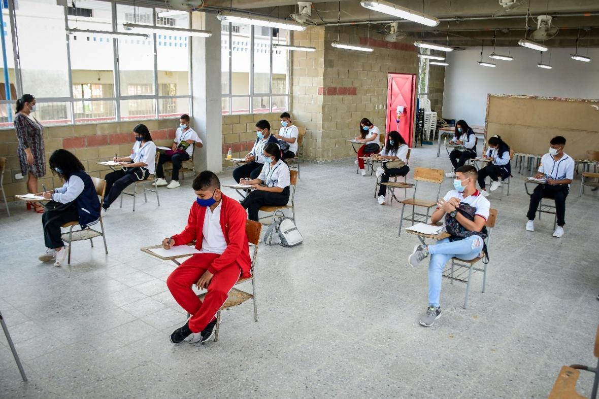 Retorno gradual en los colegios del Atlántico