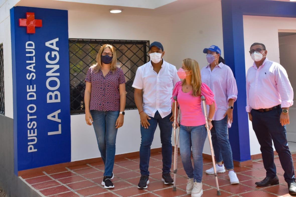 La Bonga y San Martín, en Malambo, ya tienen puestos de salud