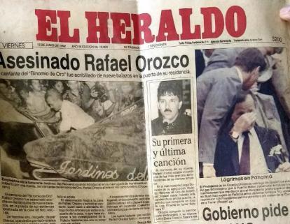 Así reportó EL HERALDO el asesinato de Rafael Orozco hace 26 años | El  Heraldo