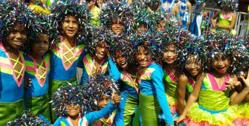 Los ni os de barranquilla protagonistas del carnaval el for Margarita saieh barranquilla cra 53