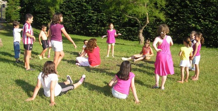 Los juegos al aire libre para los nios son un reto para los padres