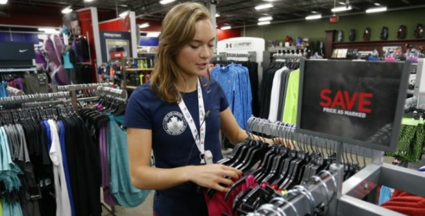 f77bdc877d934 Una tienda deportiva de EEUU da empleo a aspirantes olímpicos