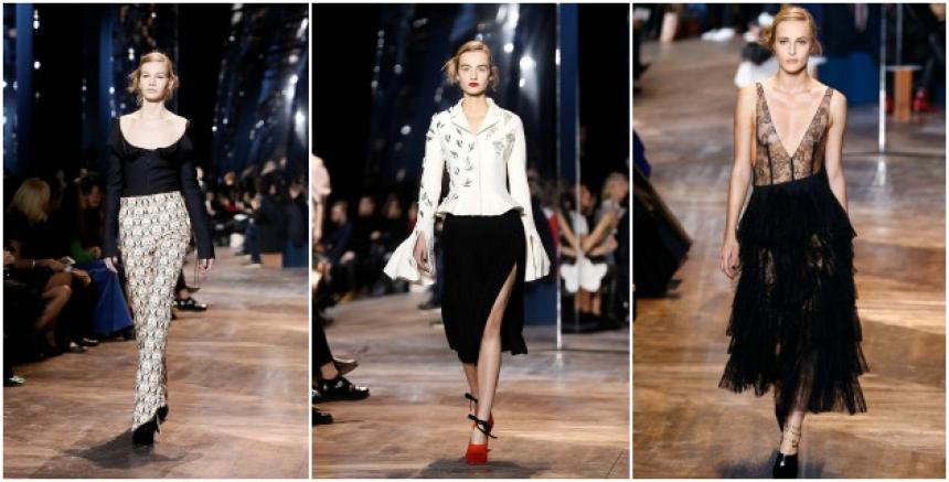 Diseños de la casa Dior, inspirados en el estilo de las parisinas.
