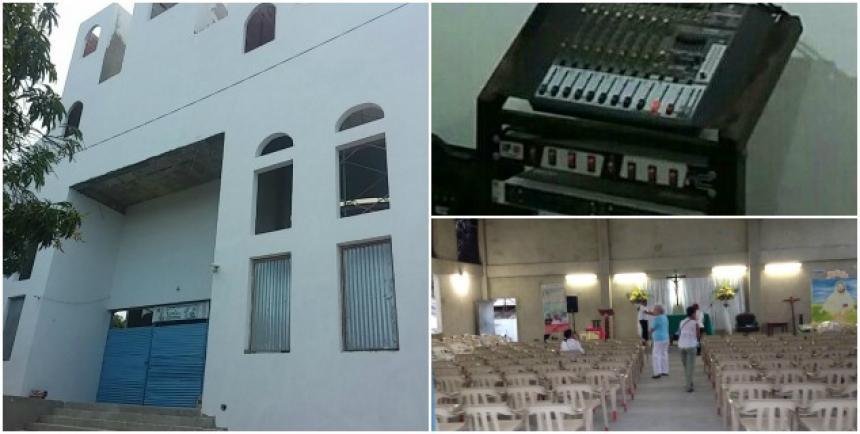 Roban consola de sonido en parroquia del barrio La Alboraya | El ... - El Heraldo (Colombia)