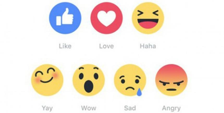 """Todo Sobre Las Reacciones De Facebook: De """"me Gusta"""" A """"me"""