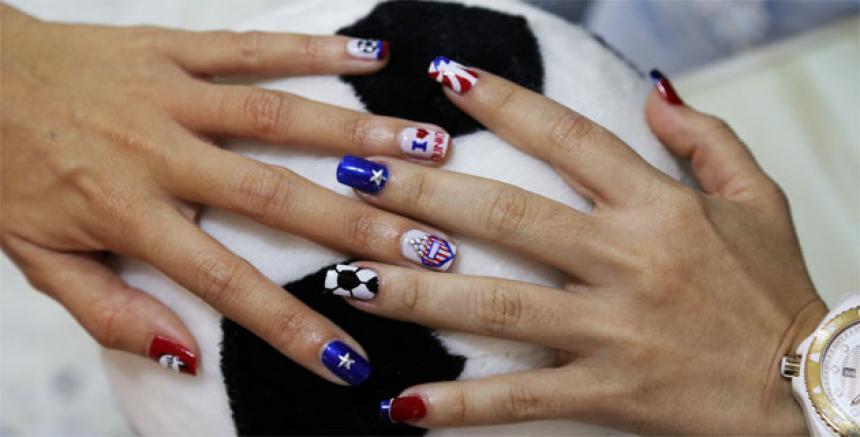 Las uñas también se ponen en modo juniorista | El Heraldo
