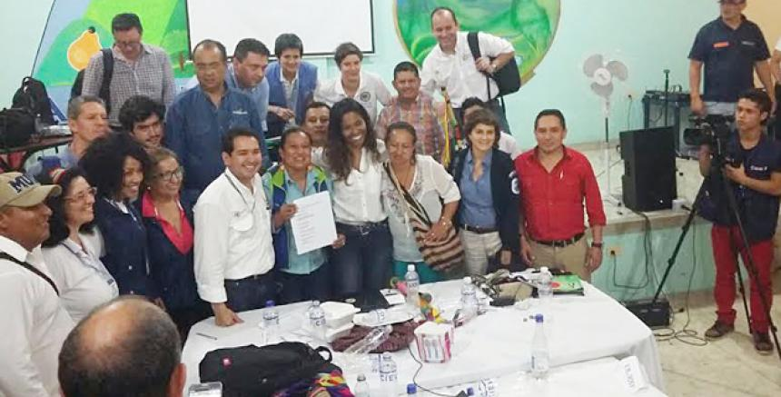 Comunidad U\'wa llega a acuerdo con Gobierno y Ecopetrol para ...
