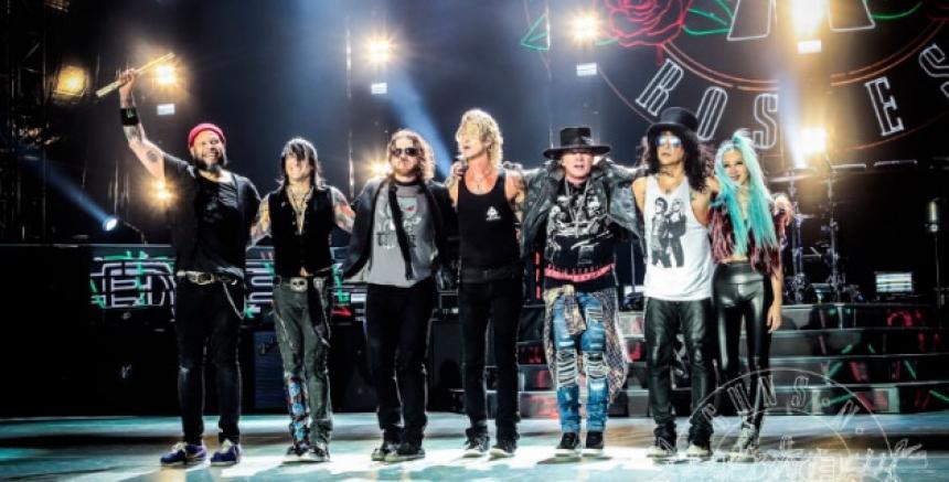 Comienza venta de entradas para concierto de Guns N' Roses en Medellín