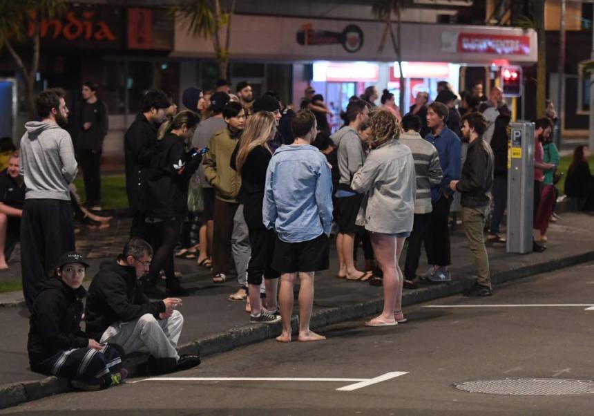 Testimonios del terremoto en Nueva Zelanda