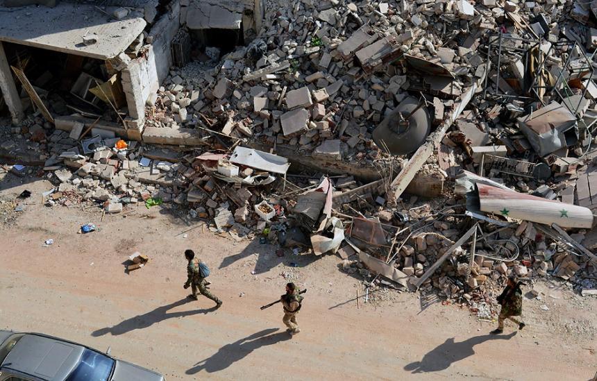 En Alepo, los bombardeos alcanzaron a un hospital infantil