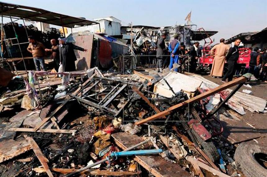 El Estado Islámico ataca Bagdad con un coche bomba