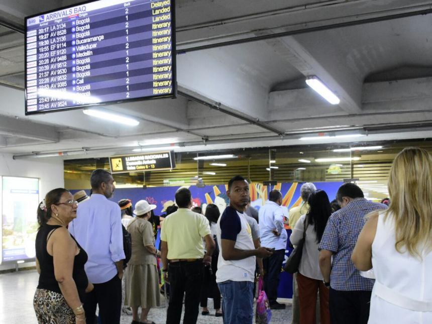Detenido pasajero en el Aeropuerto El Dorado que amenazó con una bomba