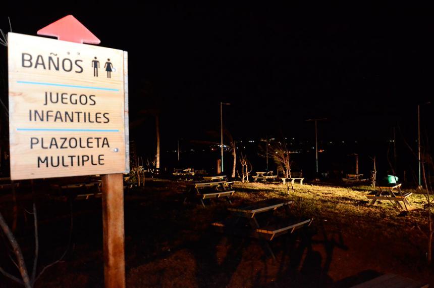 Sin servicio de eléctrico se encuentra el parque lineal del Lago de ...
