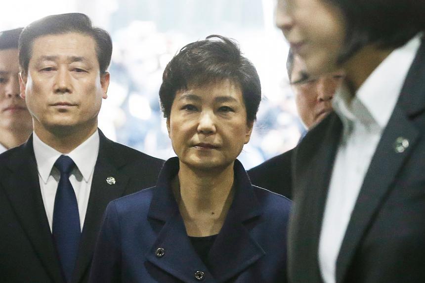 Arrestan a ex presidenta surcoreana, por escándalo de corrupción