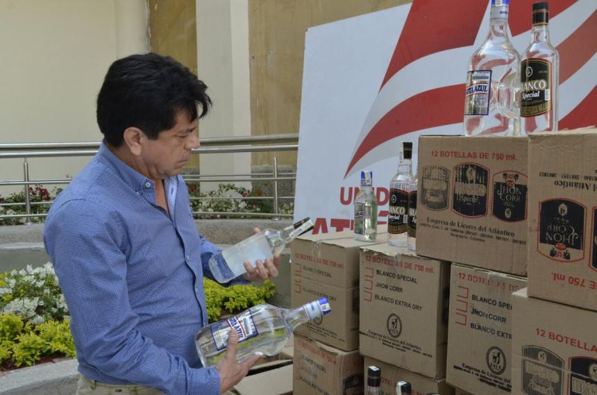 Gobernación decomisa 735 botellas de licor sin estampilla original ...
