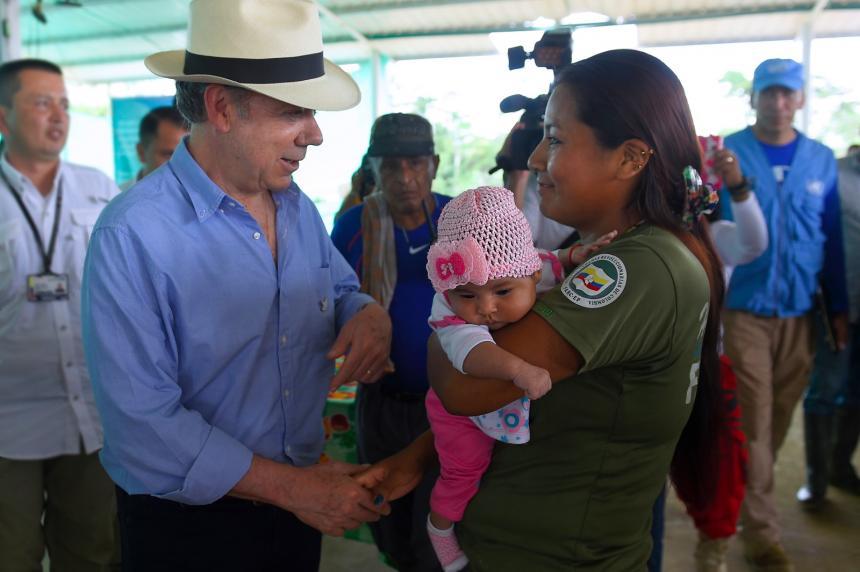 Santos visitó