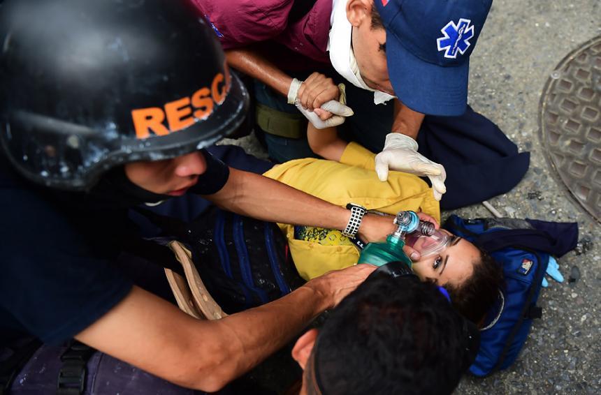 Ocariz informó sobre la muerte de un trabajador en protesta en Petare