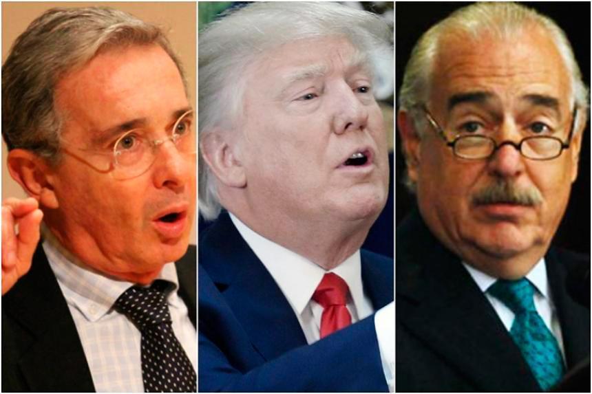Casa Blanca se refiere a encuentro entre Trump, Uribe y Pastrana — COLOMBIA