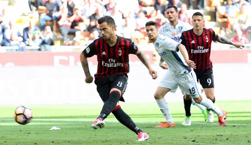 Milan tropezó en San Siro ante Empoli