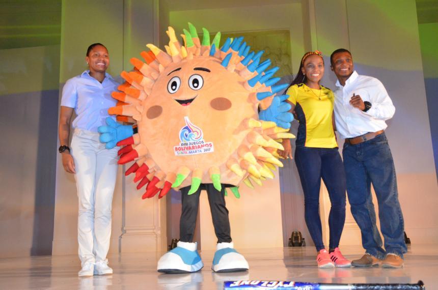 Así fue el lanzamiento oficial de los Juegos Bolivarianos en Santa Marta