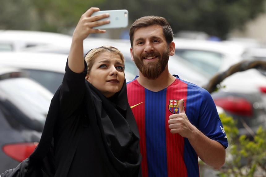El Messi iraní provoca furor en su país
