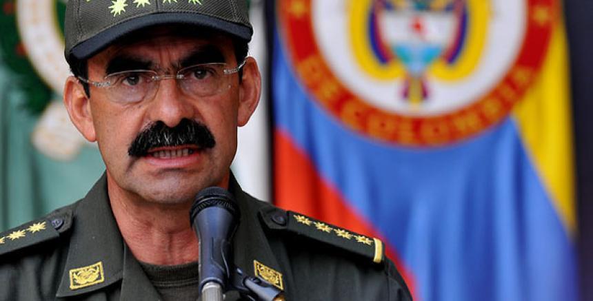 Fiscalía imputará cargos al general (r) Palomino por tráfico de influencias