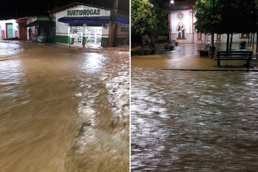 San José de Uré, Córdoba, en emergencia por fuertes lluvias