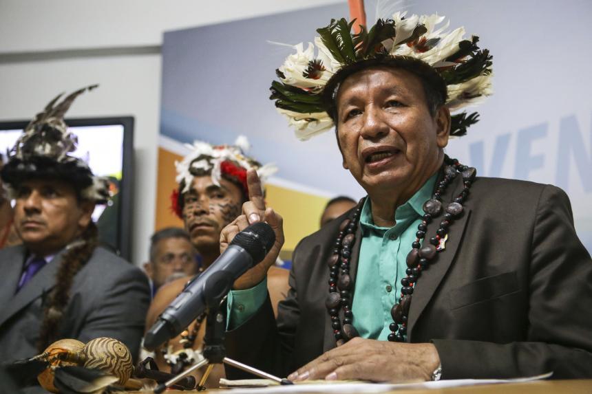 Guarulla convocó a una movilización para este miércoles en Puerto Ayacucho