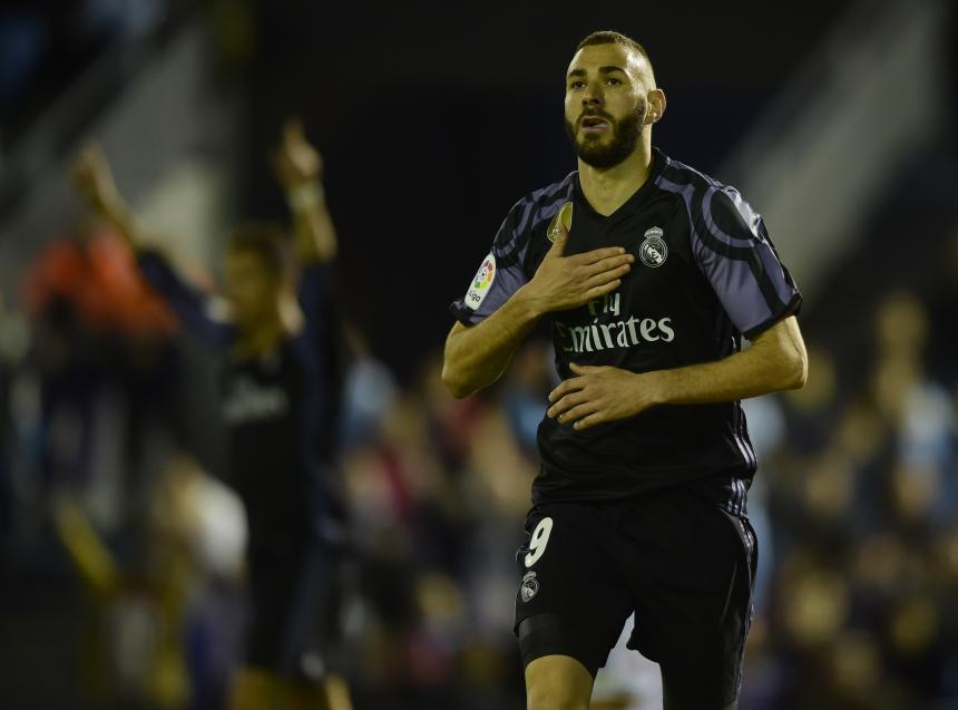Real Madrid golea al Celta y acaricia título de liga española