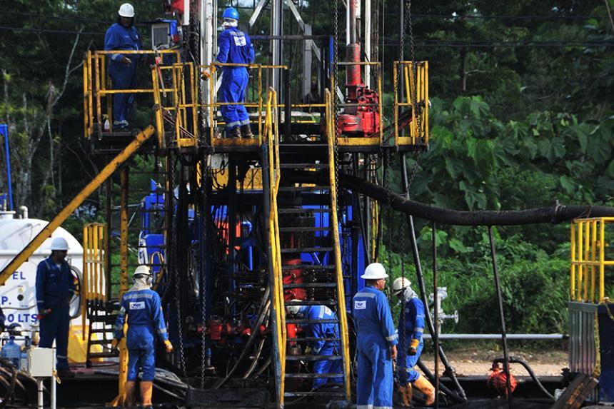 Reservas de petróleo cayeron 16.7% en el último año, reveló el Gobierno