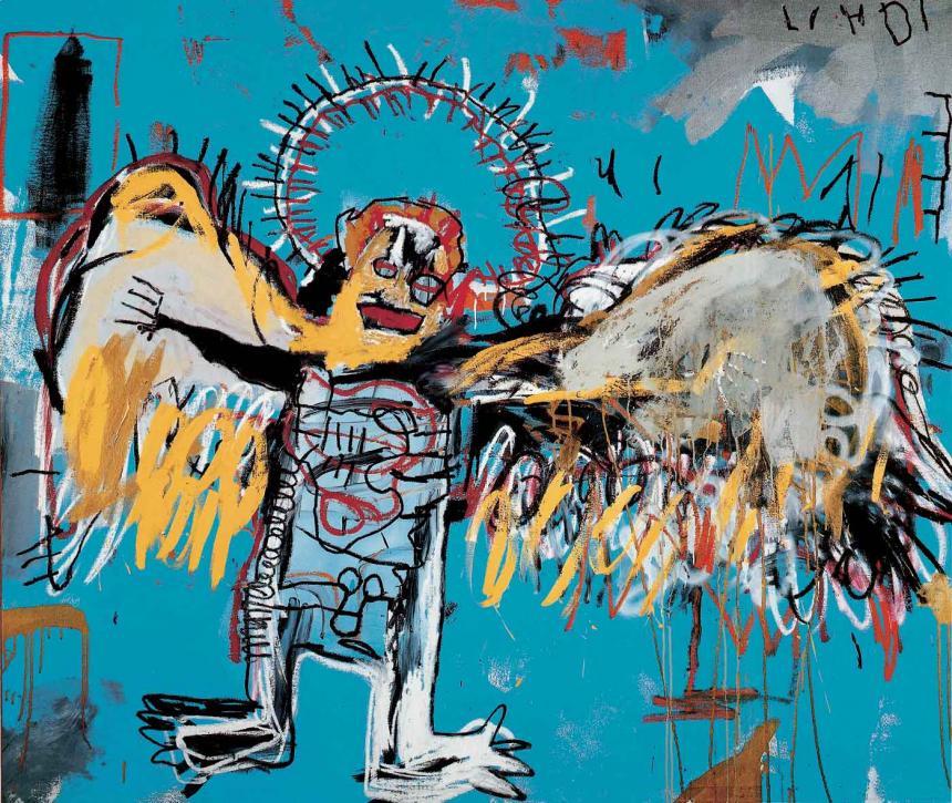 Subastan pintura de Basquiat en 110 mdd