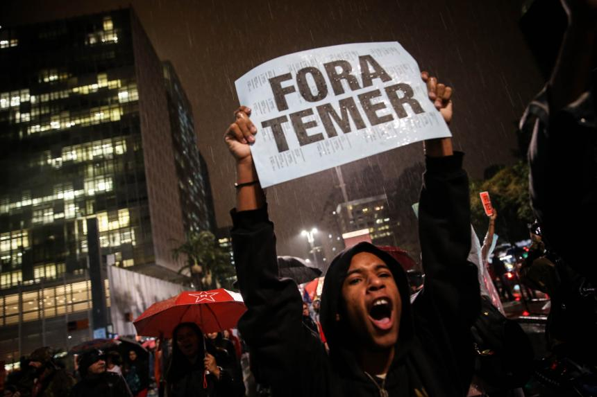 Presidente de Brasil, bajo investigación