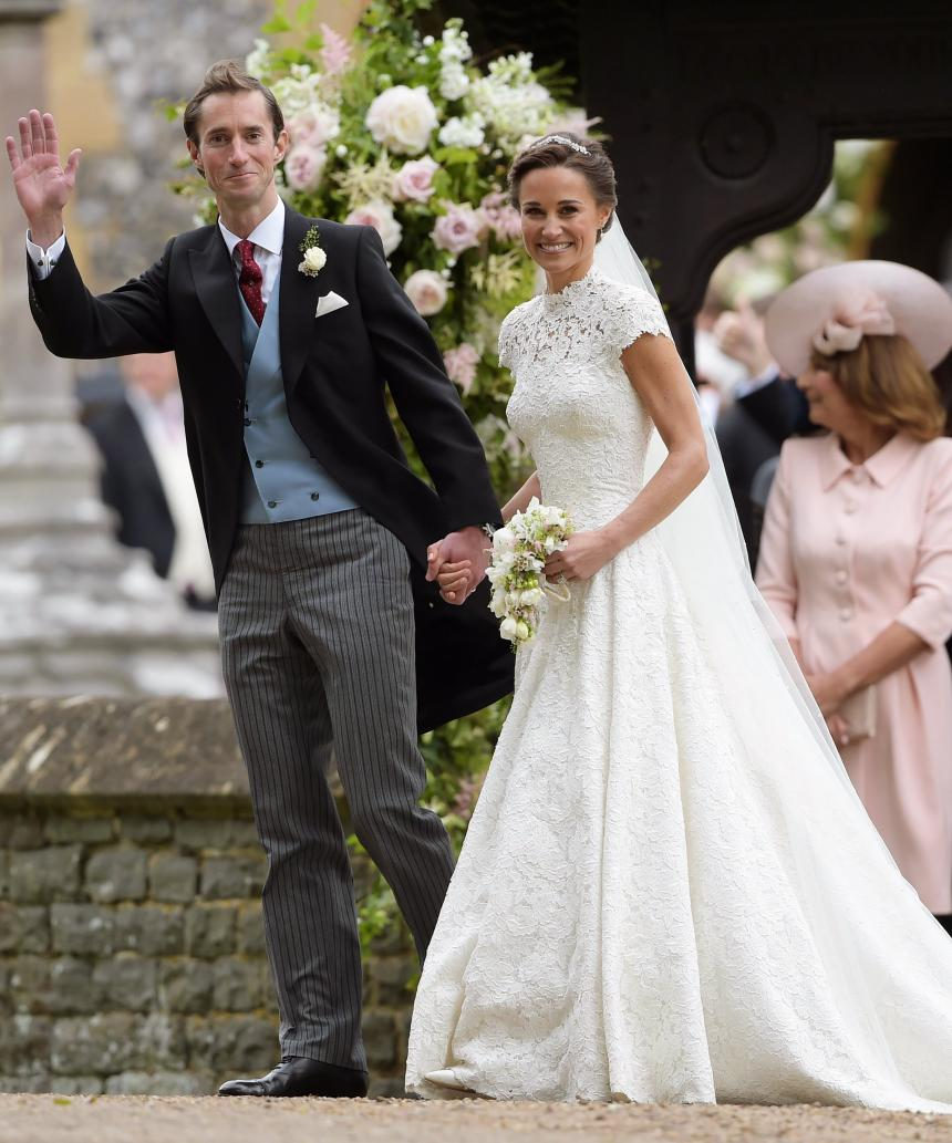 Pippa Middleton se casa con el inversionista Matthews