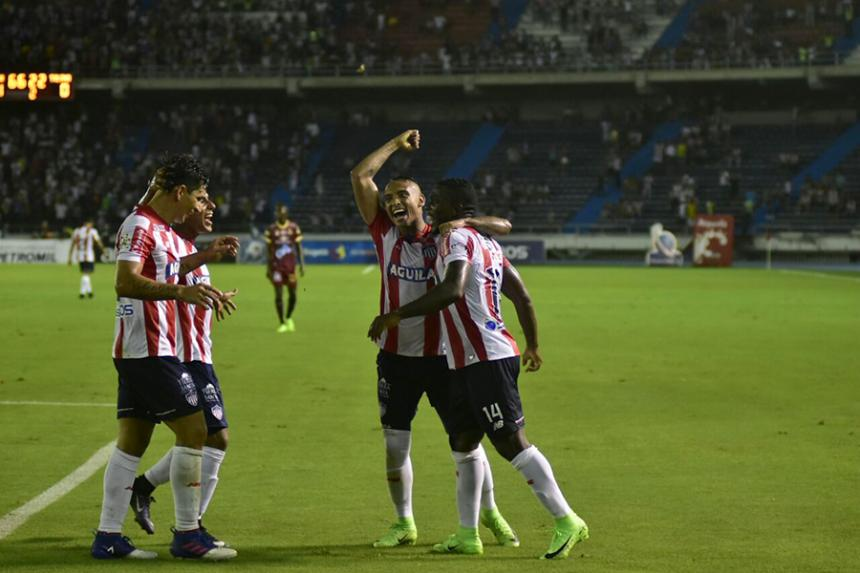 Junior venció 1-0 a Tolima, con un autogol, en el 'Metro'