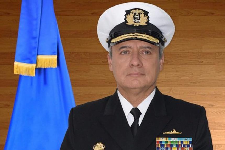El vicealmirante Ernesto Durán será el nuevo comandante de la Armada