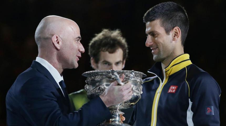 Novak Djokovic no tiembla para pasar la tercera ronda