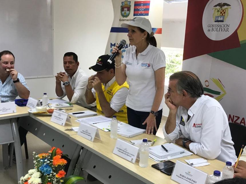 Más de 600 familias afectadas en Bolívar por fuertes lluvias
