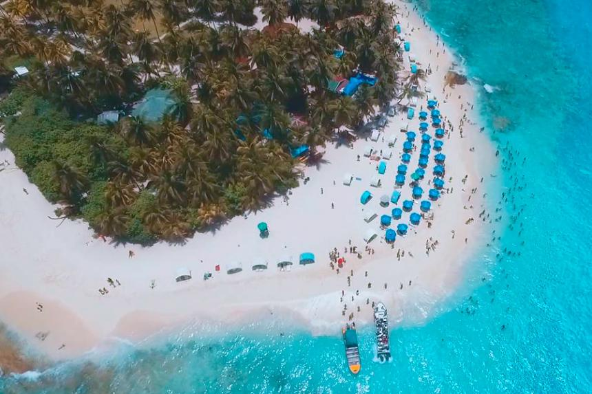 Resultado de imagen para La protección del medio ambiente del Parque Johnny Cay