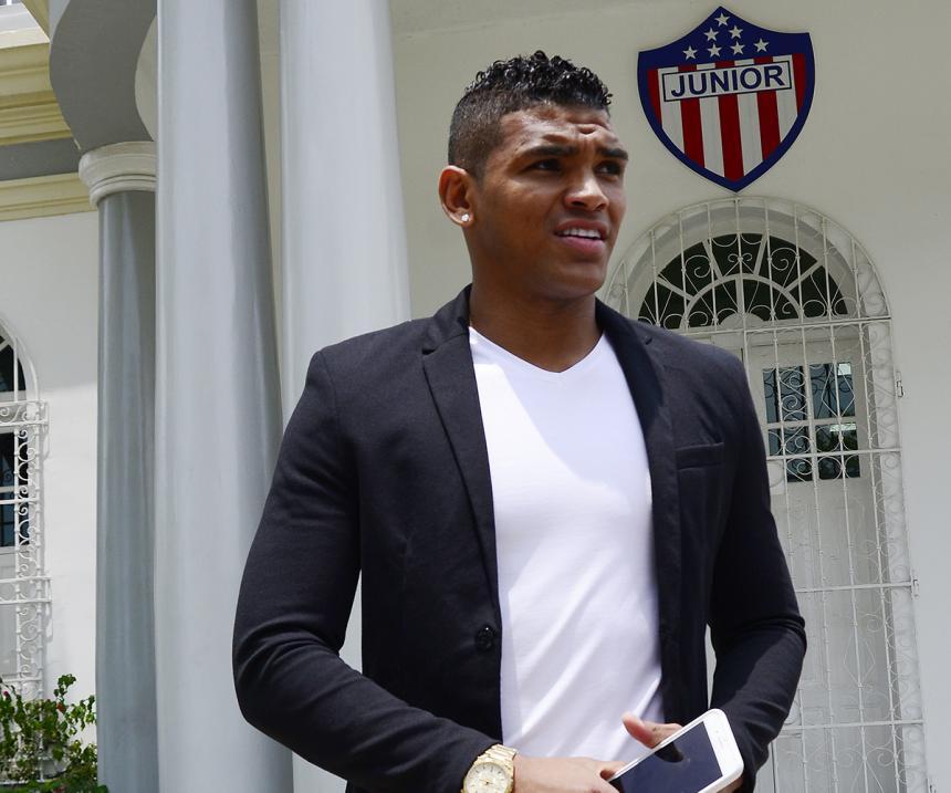OFICIAL | Ya firmó contrato el primer refuerzo del Junior de Barranquilla
